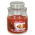 Candle Scented Apothecary Jar Rhubarb Crumble 3 Oz