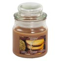 Candle Scented Apothecary Jar Salted Gingersnap 3 Oz