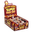 Candy Corn Super Blow Pop In 48 Ct Counter Display 1.125 Oz Bubble Gum Filled