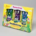 Easter Candy Bunny Crisp 3pk 3oz Foilwrapped/window Boxed/in Pdq