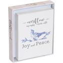 Stationery Cards 12ct W/envelops Joy And Peace *7.99* Boxed
