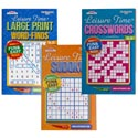 Puzzle Digest Leisure Time In 144 Ct Floor Display 3 Asst Ppd $3.95 Made In Usa