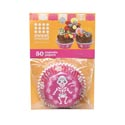 Baking Cup 50ct Pink D-o-d Skeleton *2.99*