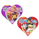 Valentine Candy Paw Patrol Heart 1.6 Oz Milk Choc Counter Display