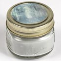 Candle Scented Mason Jar 3oz Enchanted Forest Scent Starlyte
