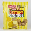 Cookies Buds Best Lemon Creme Sandwich Cookies 6oz Bag #51008