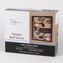 Tealight Wall Sconce Family 7.65w X 2.76d X 9h Ref #bs5122ops