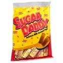 Sugar Daddy Milk Caramel Pops 4 Oz Peg Bag Open Stock