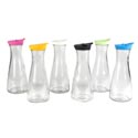 Carafe Glass 30 Oz W/color Lid 6 Assorted Colors *5.99* # 05596