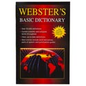 Dictionary Webster's Basic Paperback Over 55k Definitions
