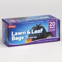 Trash Bags 20ct - 39 Gallon Lawn And Leaf Bags W/twist Ties