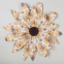 Ornament Paper Hanging Sunflower 18 X 18 (4.50) # Ea13754