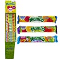 Candy Mamba Chews 2.80 Oz 3 Assorted In Floor Display Fruit-sour-tropics