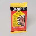 Big Wipes 20ct Industrial Plus Dual Sided Abrasive Wipes *3.99* 6 X 11 Resealable & Pegg Pack