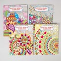 Coloring Book Adult Geometric 64 Pg 4 Assorted In Pdq