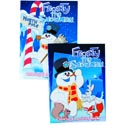 Color/activity Book Frosty The Snowman 2 Asst In Pdq