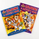 Color/activity Book Looney Tunes In Pdq