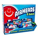 Candy Airheads 5 Bar Pack Counter Display