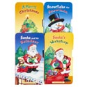 Board Books Christmas 4asst Titles 9x4.25 In 24ct Cntr Disp