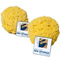 Bath Faux Sea Sponge With Hangtag #06246
