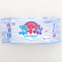 Baby Wipes Care Bears 80 Sheets Unscented W/aloe & Vitamin E