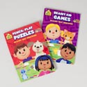 Activity Books School Zone #2 96pg Puzzles/games 2 Asst Pdq