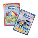 Activity Books School Zone #4 Hidden Pics/connect Dots Pdq 2 Assorted