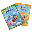 Activity Books School Zone #5 Mazes/word Search 2 Assorted Pdq