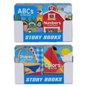Board Books School Zone 4 Asst In 24pc Pdq Abc/numbers/colors/ Shapes