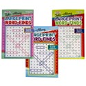 Word Find Large Print Travelsize 3asst In 144pc Floor Disp #3.95