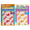 Crossword Puzzle Lg Print Travel 2ast In 144pc Flr Disp $3.95 Ppd