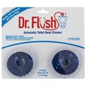 Toilet Bowl Cleaner Blue Twin Pack Dr. Flush Carded # 651df