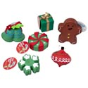 Dog Toy Christmas Vinyl W/squkr 6 Assorted In Pdq #s20279