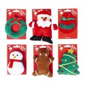 Cat Toy Christmas Assortment 6 Styles In Merch Strip #ct10351
