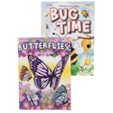 Coloring Book Bug Time 2 Asst In Floor Display Ppd $3.95