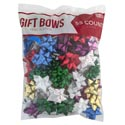 Bows Christmas 55 Peel N Stick Asst Colors 4 Sizes Polybag