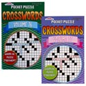 Crossword Pocket Puzzles 2asst In Pdq Ppd $4.95