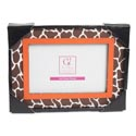 Photo Frame 8x7 Giraffe 4 X 6 Opening Mdf (7.50)