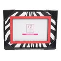 Photo Frame 8 X 7 Zebra 4 X 6 Opening Mdf (7.50)