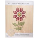 Craft Kit Flower Stitch Art Wood Wall Decor 9 X 14 *24.99* See N2 Boxed