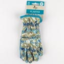 Gloves Womens Planter Medium Synthetic Leather Palm *8.99* Shirred Wrist Digz Ref #7222-23
