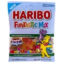 Gummi Candy Haribo Funtastic Mix 4.0 Oz Peg Bag
