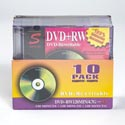 Dvd Blank 10pk With Cases Rewritable 4.7g
