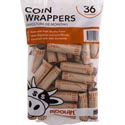 Coin Wrappers - Quarters 36ct