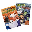 Coloring Book Halloween 2asst 96pg In Floor Display Ppd $3.95 Made In Usa
