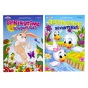 Color/activity Book Spring Theme 2 Asst In Floor Disp Ppd $4.95