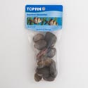 Rocks 1 Lb River Rust Pvc Bag *1.99*