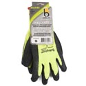 Glove Thermal Knit Green Small Insulated Heavy Duty Latex*9.95* Palm Carded # C4005hvgrs