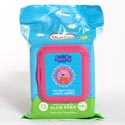 Wipes Antibacterial 25ct Peppa Pig Exp: 02/09/2021 Enriched With Aloe Vera