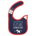 Baby Bib Future Democrat 12.5 X 8 Cotton (3.00)